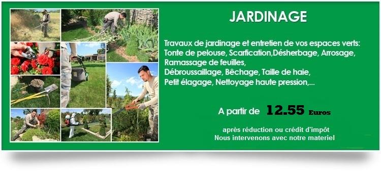 C r services domicile for Cesu jardinage